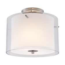 Essex Round Semi Flush Ceiling Light