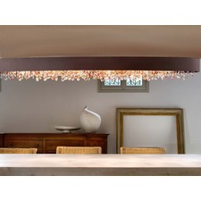 Ola Oval Ceiling Flush Light