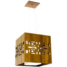 Arabesque Box Pendant