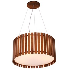 Slatted 1096 Drum Pendant