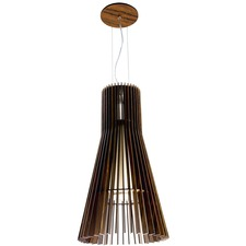 Flared 1138 Turned Slats Pendant