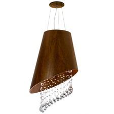 Line Lisos Angled Cone Crystal Pendant