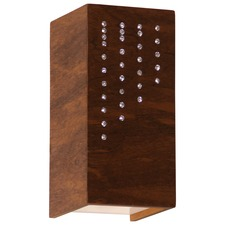 Wood Crystals 4027 Wall Light