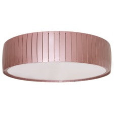 Slatted Drum Ceiling Light Fixture