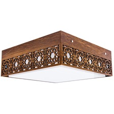 Line Star Ceiling Light Fixture
