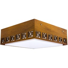 Line Maze Ceiling Light Fixture