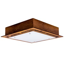 Patched Square Ceiling Light Fixture