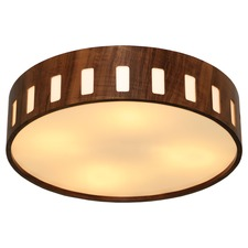 Cylindrical Cutout Ceiling Light Fixture
