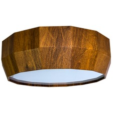 Line Facet Ceiling Light Fixture