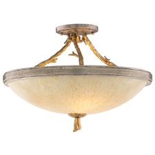 Parc Royale Semi Flush Ceiling Light
