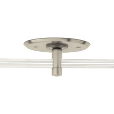 Monorail 4 Inch Round Single Feed Canopy