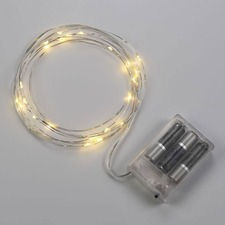 Starry Lights Battery Powered Single Strand LED
