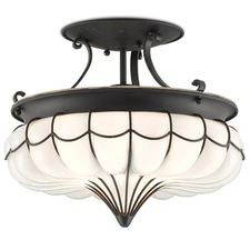 Agnes Semi Flush Ceiling Light