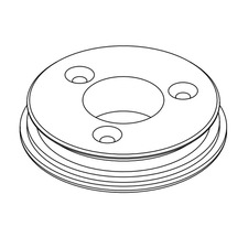Internal Flange Mount 2.5 Inch
