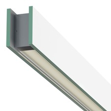 Glide Glass Up/Down 10W 27D Warm Dim Suspension with FJ Port