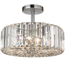 Clearview Semi Flush Ceiling Light
