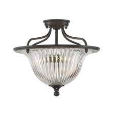 Aberdeen Ceiling Semi Flush Light