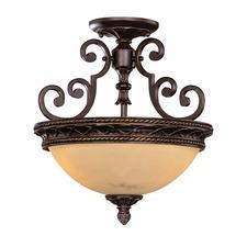 Knight Ceiling Semi Flush Light