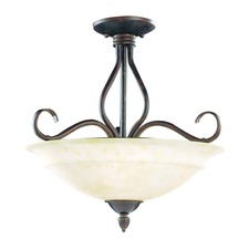 Bryce Ceiling Semi Flush Light