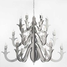 Night Watch Round Chandelier