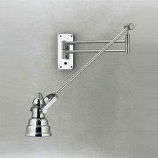 NAW33 Swing Arm Wall Sconce W / NAR83 Shade