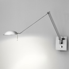 Bernie Turbo Reading Swing Arm Wall Lamp