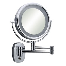 Double Arm Reversible Light Mirror