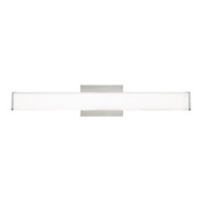 Lynn Bath Bar White Glass