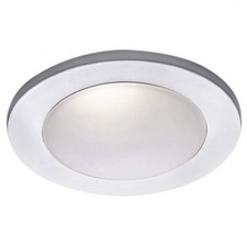 4 Inch Drop Dish Glass Dome Trim