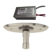 4 Inch Round LED Power Feed Canopy With Transformer