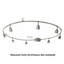 Monorail 12V Circle Kit 600W Surface Dual Feed Magnetic