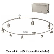 Monorail 12V 2X300 2-Circuit Circle Kit Remote Magnetic