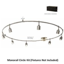 Monorail 12V Circle Kit 600W Remote Dual Feed Magnetic