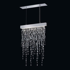 Crystalline Icicles Linear Suspension