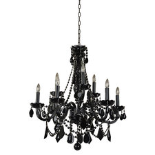 Black Tie 9 Light Chandelier