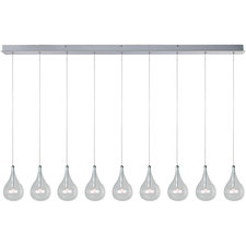 Larmes 9 Light Linear Suspension