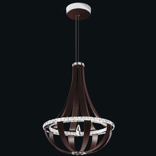 Crystal Empire 27 Inch 3000K LED Chandelier