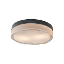 Fluid Round Halogen Wall/Ceiling Mount