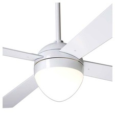 Ball Ceiling Fan with Light and 002 Remote Control