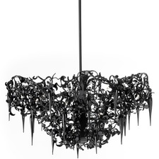 Flower Power Chandelier Round Upside Down