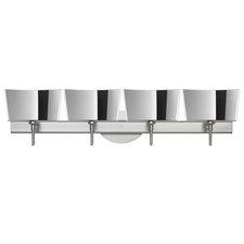 Groove Bath Bar with Round Canopy