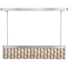 Metal Weave LED Linear Pendant
