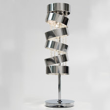 Secret Club Table Lamp with Swarovski Crystal