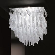 AVIR Tiered Semi Flush Ceiling Light