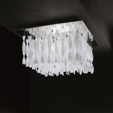 AVIR Square Semi Flush Ceiling Light