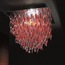 AVIR Tiered Semi Flush Ceiling Light