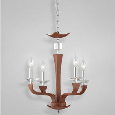 Pella 4 Light Chandelier