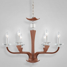 Pella 6 Light Chandelier