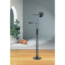 2505 Twin Light Floor Lamp