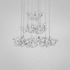 Volare 10 Light Round Chandelier